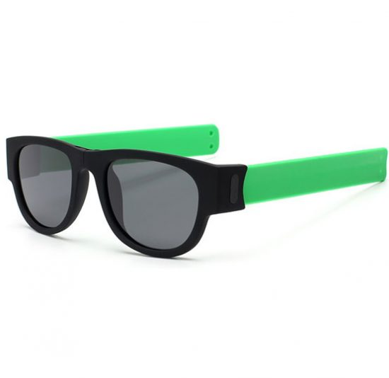 Slapsee Sunglasses Foldable Unisex - Green - Karachi - Pakistan