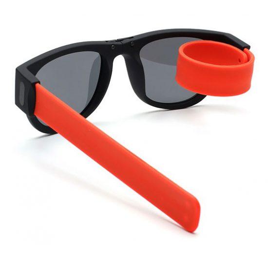 Slapsee Sunglasses Foldable Unisex - Orange - Karachi - Pakistan