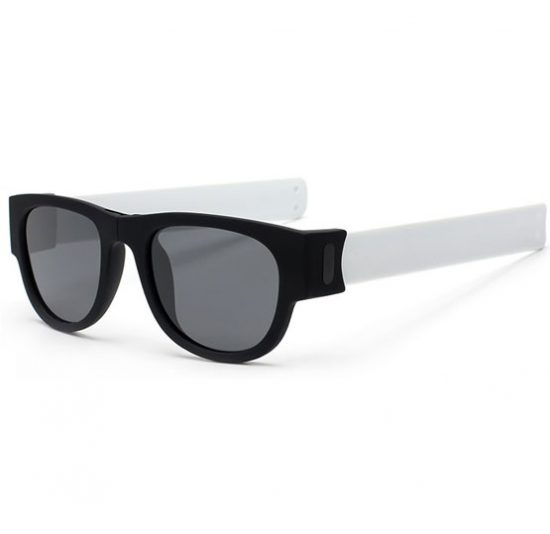Slapsee Sunglasses Foldable Unisex - White - Karachi - Pakistan