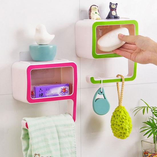 9 Shape Bathroom Washroom Accessories Soap Rack Amp Towel