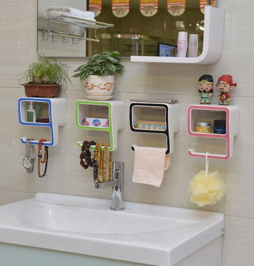9-shape-bathroom-stand-soap-rack-towel-holder-pakistan-6