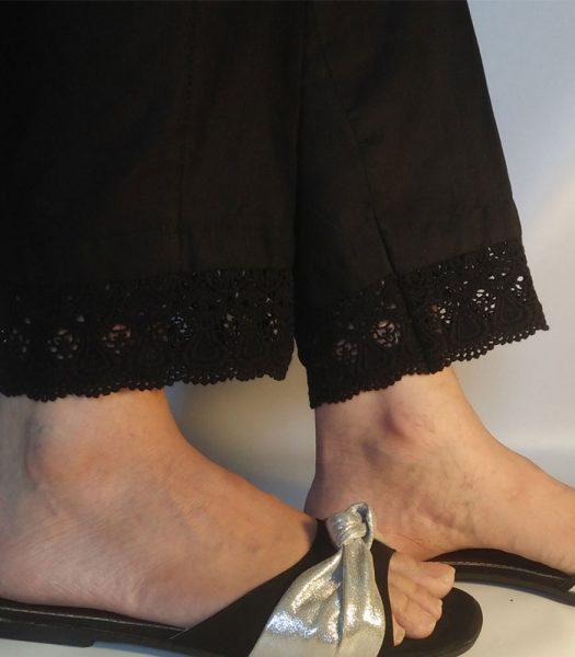 black-cotton-trouser-for-ladies-with-stylish-lace-pakistan-1