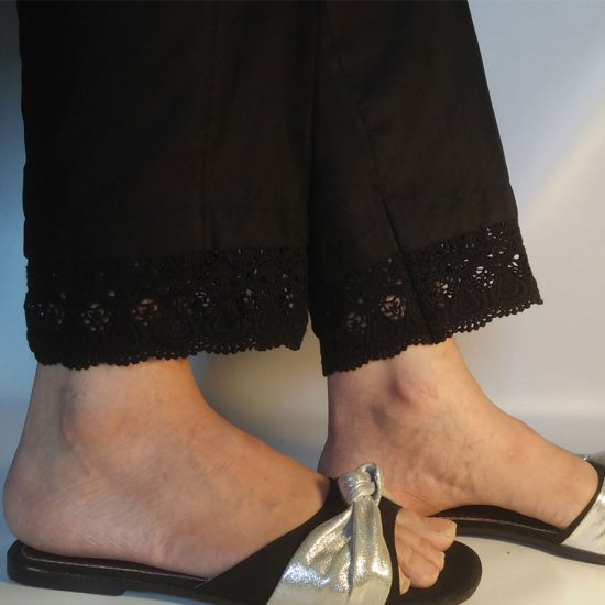 black-cotton-trouser-for-ladies-with-stylish-lace-pakistan-1