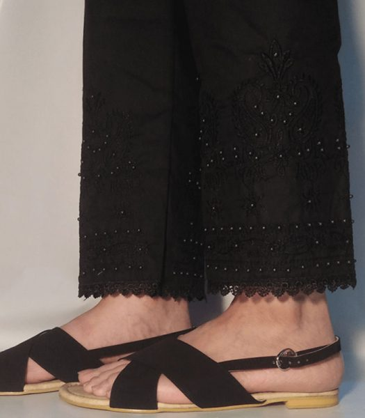 embroided-trouser-pant-beads-pure-cotton-black-zt41-pakistan-1